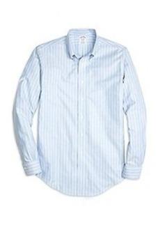 Non-Iron Regent Fit Stripe Sport Shirt