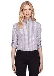 Non-Iron Tailored Fit Ruffle Collar Dress Shirt