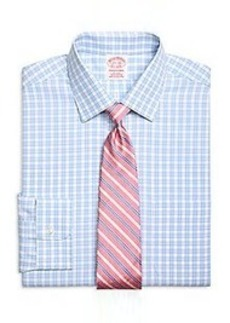 Non-Iron Traditional Fit Framed Gingham Dress Shirt