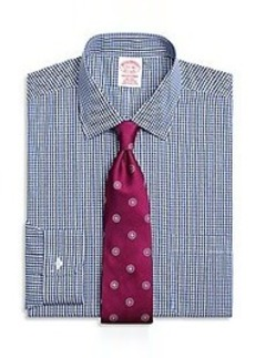 Non-Iron Traditional Fit Gingham Dress Shirt