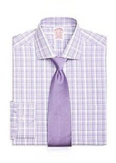 Non-Iron Traditional Fit Sidewheeler Check Dress Shirt