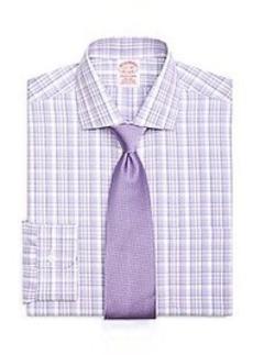 Non-Iron Traditional Fit Sidewheeler Check Dress Shirt