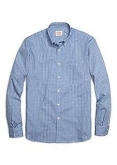 Organic Cotton Check Sport Shirt