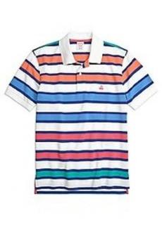 Original Fit Large Framed Stripe Polo Shirt