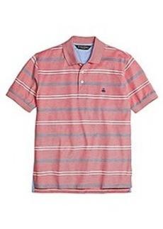 Original Fit Uneven Bar Stripe Polo Shirt