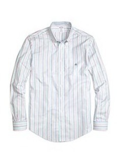 Regent Fit Oxford Stripe Sport Shirt