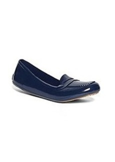 Rubber Penny Loafers