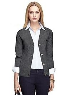 Saxxon® Wool Cardigan