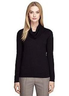 Saxxon® Wool Cowl Neck Sweater