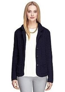 Saxxon® Wool Sweater Jacket