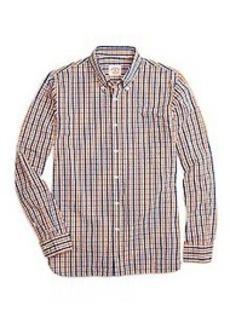 Seersucker Check Sport Shirt