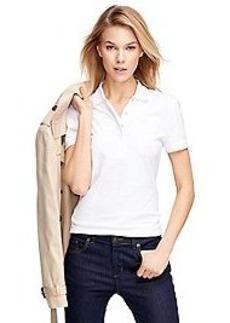 Short-Sleeve Slim Fit Polo Shirt
