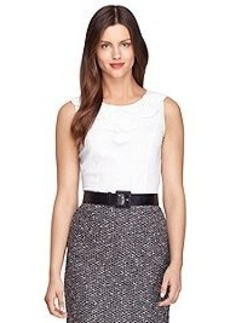 Sleeveless Cotton Shirt