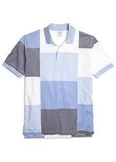 Slim Fit Color-Block Polo Shirt