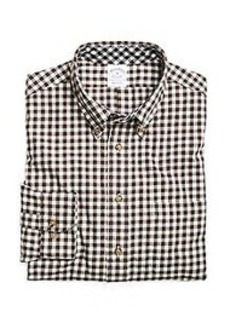 Slim Fit Flannel Gingham Sport Shirt