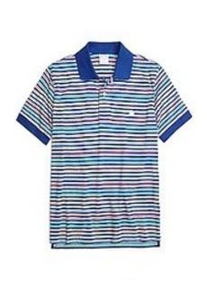 Slim Fit Multistripe Polo Shirt