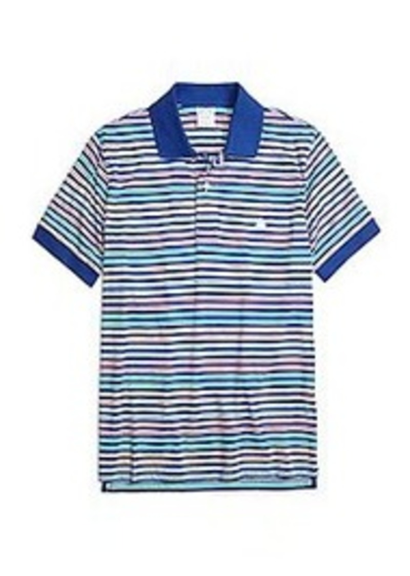 Brooks Brothers Slim Fit Multistripe Polo Shirt Casual
