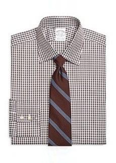 Slim Fit Shadow Check Dress Shirt