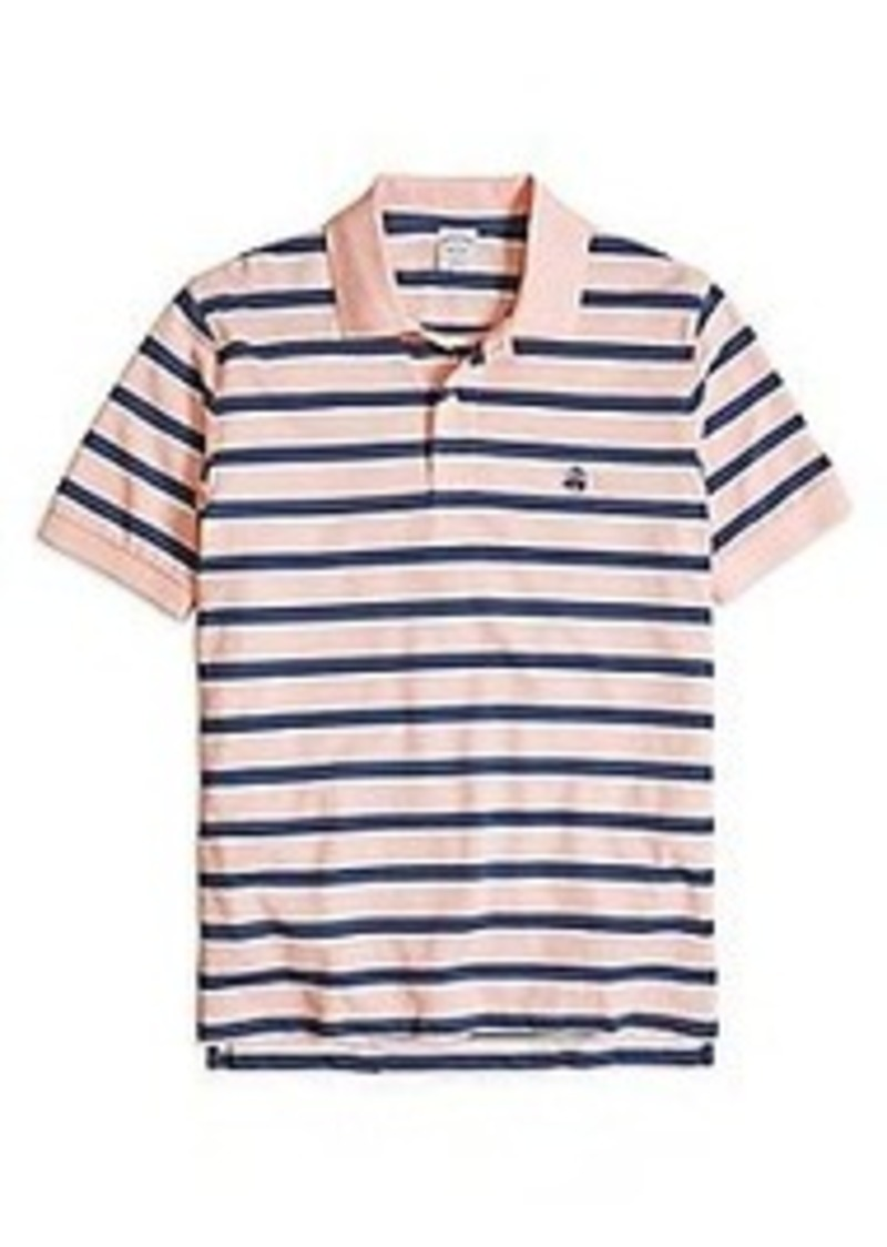 Brooks Brothers Slim Fit Stripe Polo Shirt Casual Shirts