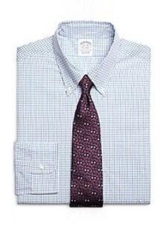 Slim Fit Tattersall Dress Shirt