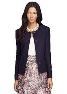 Stellita Fit Four-Button Wool Jacket
