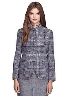 Stellita Fit Four-Button Wool Jacket