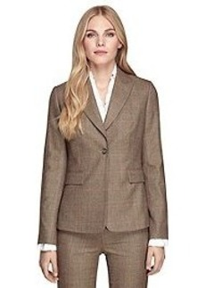 Stellita Fit One-Button Saxxon® Wool Jacket