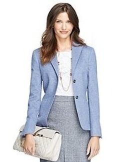 Stellita Fit Two-Button Wool Jacket