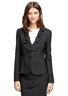 Stellita Fit Wool Stripe Jacket