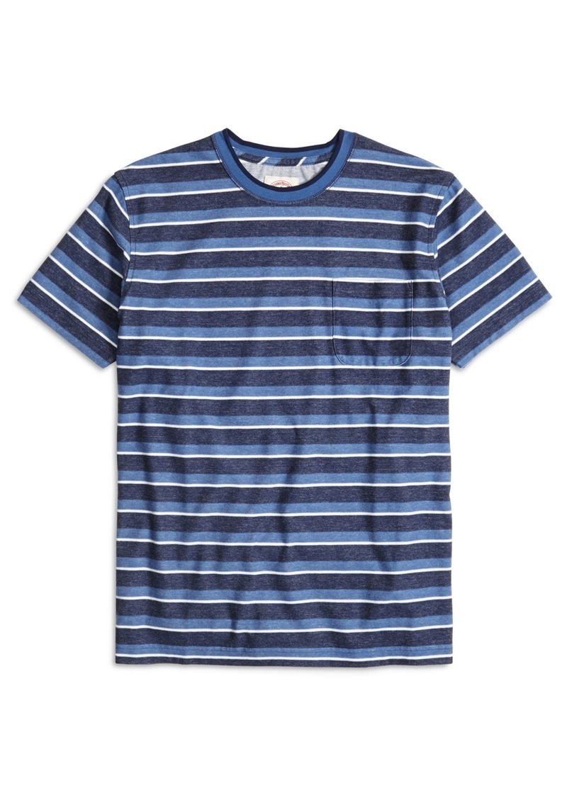 Brooks Brothers Stripe Tee Shirt Casual Shirts Shop It