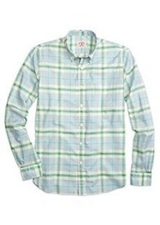 Supima® Cotton Bold Plaid Sport Shirt