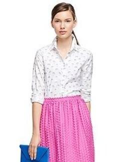 Supima® Cotton Printed Shirt