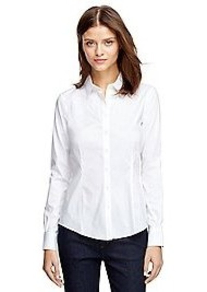 Brooks Brothers Tailored Fit Cotton Shirt Casual Shirts