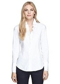 Tailored Fit Cotton Stretch Shirt