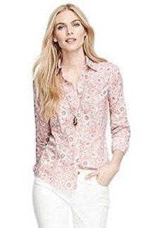Tailored Fit Floral Print Shirt