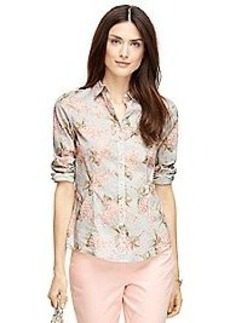 Tailored Fit Floral Shirt