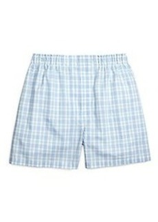 Traditional Fit Ground Plaid Boxers