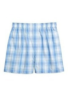 Traditional Fit Tonal Plaid Boxers