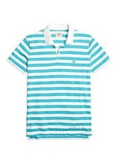 Wide Stripe Polo Shirt