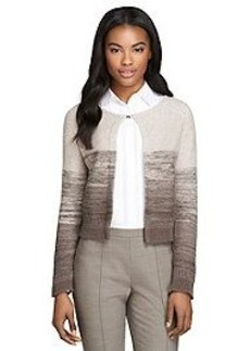 Wool Sequined Cardigan