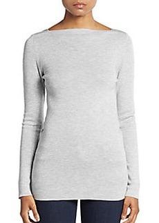 Brunello Cucinelli Cashmere & Silk Monili-Detail Sweater