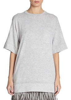 Brunello Cucinelli Cashmere Sweatshirt Top