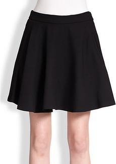 Brunello Cucinelli Double Face Wool Full Skirt