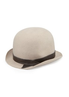 Brunello Cucinelli Felted Wool Bowler Hat