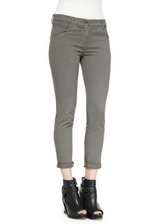 Brunello Cucinelli Five-Pocket Garment-Dyed Jeans