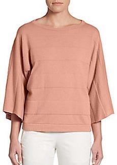 Brunello Cucinelli Kimono-Sleeve Cashmere Pullover