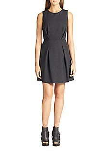 Brunello Cucinelli Pleated Jersey Dress