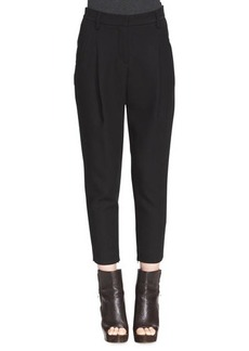 Brunello Cucinelli Relaxed Pleated Ankle Pants