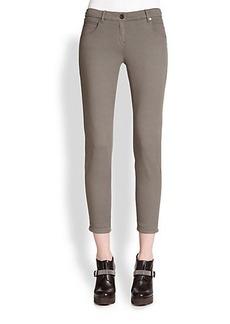 Brunello Cucinelli Stretch Cotton Pants