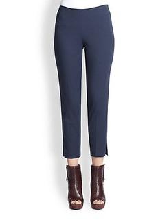 Brunello Cucinelli Stretch Side-Zip Pants